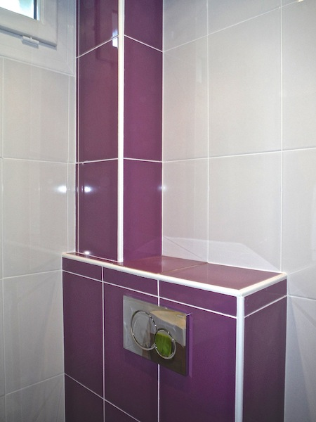 Oct 2014 wc et sanitaire a t o m for Deposer du carrelage mural