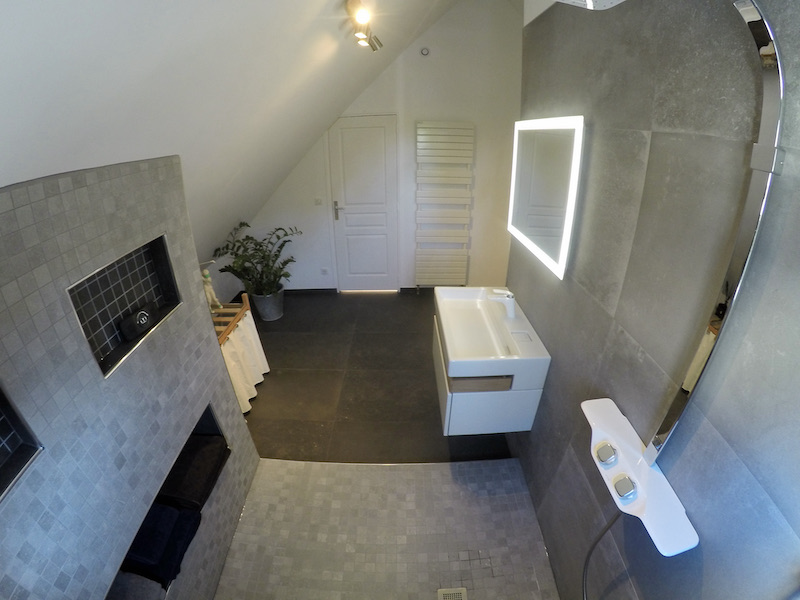 La salle de bain APRÈS notre intervention !